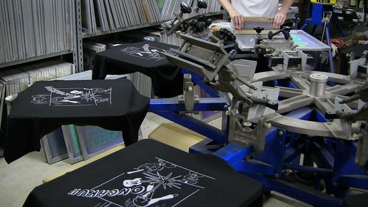 音楽Tシャツ2
